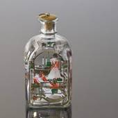 Holmegaard Christmas Bottle 1992, capacity 65 cl.