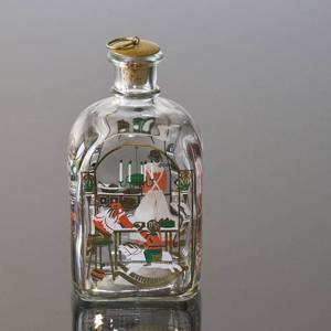Holmegaard Christmas Bottle 1992, capacity 65 cl. | Year 1992 | No. HXF1992 | Alt. DG.1853 | DPH Trading