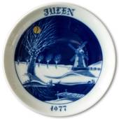 1977 Hackefors Christmas plate luxe