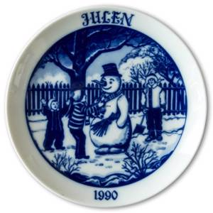 1990 Hackefors Christmas plate | Year 1990 | No. HXT1990 | DPH Trading