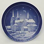 1968 Bareuther & Co. Christmas church plate, Roskilde Cathedral