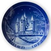 1972 Bareuther & Co. Christmas church plate, Kalundborg Church