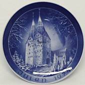 1974 Bareuther & Co. Christmas church plate, Broager Church