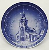 1975 Bareuther & Co. Christmas church plate, Sct. Knud's Church