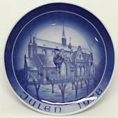 1978 Bareuther & Co. Christmas church plate, Haderslev Cathedral