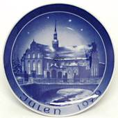 1979 Bareuther & Co. Christmas church plate, Holmens Church