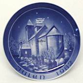 1982 Bareuther & Co. Christmas church plate, Fjenneslev Church