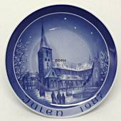 1987 Bareuther & Co. Christmas church plate, Aarhus Church