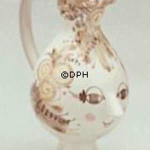 Wiinblad Jug , hand painted, blue/white or multi colour | No. K-4 | DPH Trading
