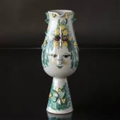 Wiinblad Faun-Jug , hand painted, blue/white or multi colour