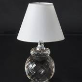 Table lamp in Crystal without Lampshade