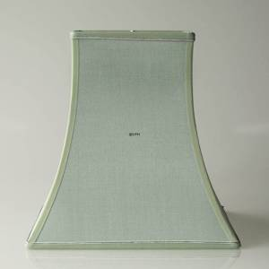 Square lampshade height 29 cm, light green silk fabric | No. K291728A0327R | DPH Trading