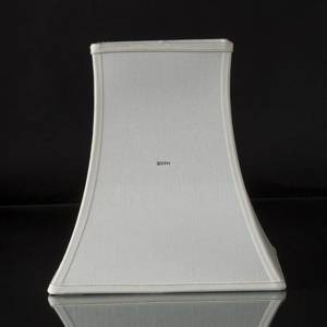 Square lampshade height 32 cm, white silk | No. K321932A0671R | DPH Trading