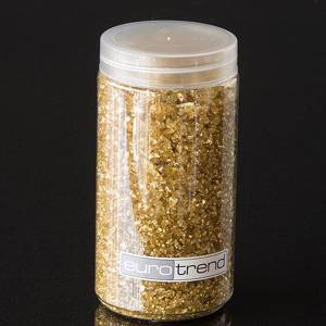 Decorative stones gold and uncut at 370 ml | No. KA109 | Alt. 416002538 | DPH Trading