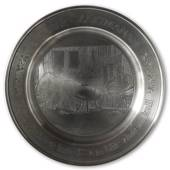 Scandia Tin Pewter October plate