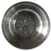 Karlshamn Biblical Motifs Pewter Plate 7 Entry into Jerusalem