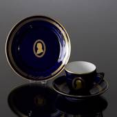 Composer Coffee set, Schumann, Cup, saucer and cake plate no. 9, Bing & Gro...