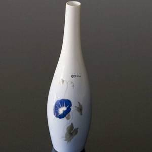 Lyngby Porcelain, vase with flowers No. 125-2-50 | No. L-125-2-50 | DPH Trading