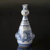 Wiinblad Candlestick, Candlebird, hand painted, blue