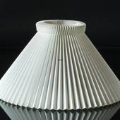Le Klint 1 sidelength 38cm, Lampshade made of white plastic excluding stand