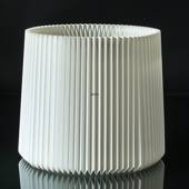 Le Klint 16 height 38cm, Lampshade made of white plastic