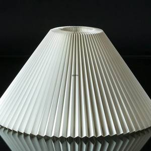 Le Klint 2 S25 Lampshade made of white plastic excluding stand | No. LK-2-S25-PL | Alt. 2-25PL | DPH Trading