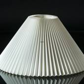 Le Klint 2 S27 Lampshade made of white plastic excluding stand