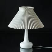 Le Klint 311 Table lamp made of polished white glass