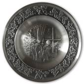 1994 Måstad Pewter Christmas plate, Star of Bethlehem