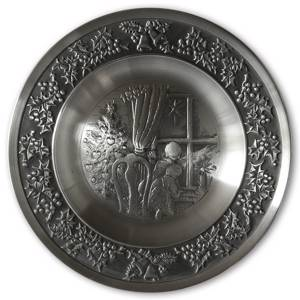1994 Måstad Pewter Christmas plate, Star of Bethlehem | Year 1994 | No. MAX1994 | DPH Trading