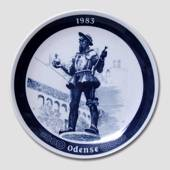 "Annual plate ""Odense"" -1983, Millhouse"
