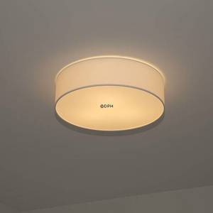 Ceiling lamp in white vasable foil with structure, diameter 48 cm | No. PC-1131 | DPH Trading