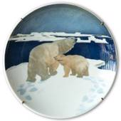 Porsgrund Exclusive Animal Masterpieces No. 1 Polar Bear (Mother and Child)