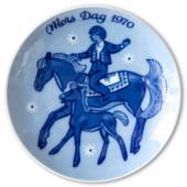 1970 Porsgrund Mother's Day plate