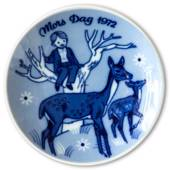 1972 Porsgrund Mother's Day plate