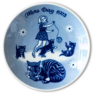 1973 Porsgrund Mothers Day plate | Year 1973 | No. PM1973 | Alt. PM730 | DPH Trading