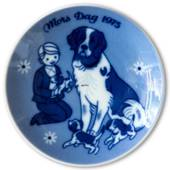 1975 Porsgrund Mother's Day plate