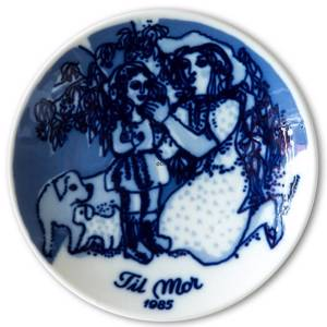 1985 Porsgrund Mothers Day plate | Year 1985 | No. PM1985 | Alt. PM850 | DPH Trading