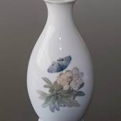"Vase with Flowers and Butterfly, unique, signed SA ""Sample"" Royal Copenhage..."