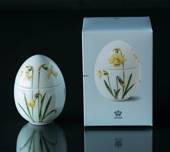 Standing bonbonniere with Narcissus, Royal Copenhagen Easter Egg 2017