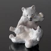 Polar Bears playing, Royal Copenhagen figurine no. 1020085