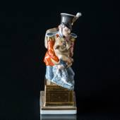 The soldier and the dog from the Tinderbox, Royal Copenhagen figurine - Ove...