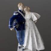 The Soldier and the Princess, Royal Copenhagen figurine