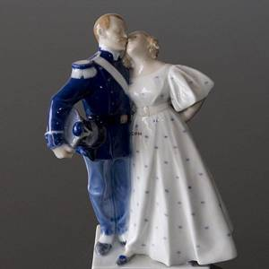 The Soldier and the Princess, Royal Copenhagen figurine | No. R1180 | DPH Trading