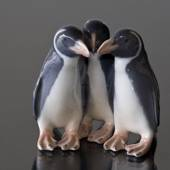 Group of three penguins, Royal Copenhagen figurine