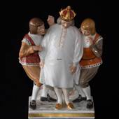 Emperor's new clothes, Overglaze, Royal Copenhagen figurine