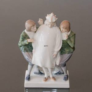 Emperor's new clothes, Royal Copenhagen figurine