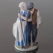 Harvest Group, Man & Woman, Royal Copenhagen figurine