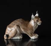 lynx, Royal Copenhagen figurine