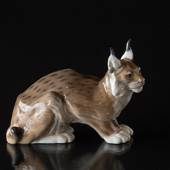 lynx, Royal Copenhagen figurine No. 1329